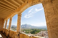 Views from the castle in Velez Blanco, Almería province, Andalucía, Spain