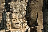 Bayon, Angkor Thom, Angkor Archaeological Park, Siem Reap, Cambodia