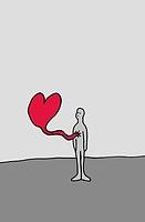 Brokenhearted man