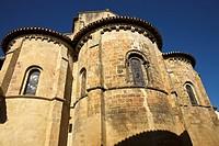 Collegiate church of Saint Nicolas de Nogaro, GR65 way Compostela, France