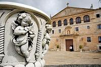 Monastery of Santa Maria de La Vid in Burgos province, Castilla Leon, Spain