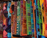 Colourful Fabrics in the Soukh