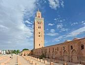 The Mosque la Koutoubia in Marrakech
