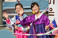 Participants in Korean Festival