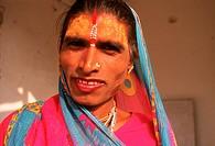 Hijra : male prostitute. India.