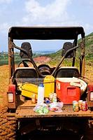 An ATV adventure though Kipu Ranch on Kauai, Hawaii, USA
