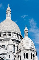 The Sacre-Coeur, Montmartre, Paris, France