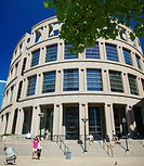 A view of the Vancouver Public library