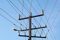 Electric lines in Darwin Australia