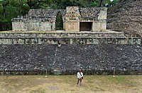 Ball Game Courtyard in Copán, Honduras