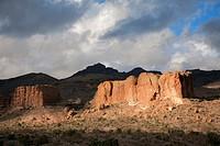 Sitgreaves lpass landscape, Historic Route 66, From Kingman to Seligman, Arizona, USA.