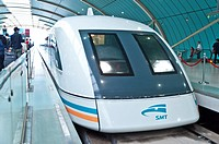 Maglev Train, Transrapid, Shanghai, China