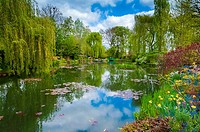 Monet´s garden, Giverny, Normandy, France,
