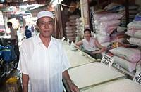 Portrait of an Indonesian man