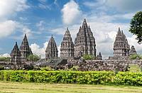 Prambanan temple, java,Indonesia