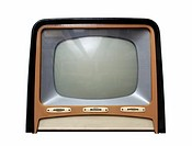 Vintage television apparatus from 1950