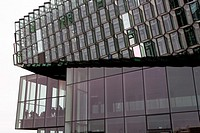 The opening of Harpa Concert Hall and Conference Centre, Reykjavik Iceland