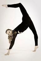 Portrait of woman. Athlete of rhythmic dance.