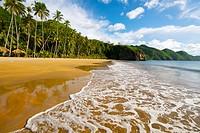 Playa Medina, tropical beach in Paria Peninsula in the eastern coast of Venezuela