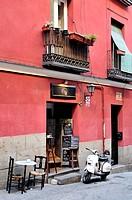 Little cafe  Madrid, Spain