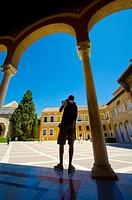 Reales Alcázares de Sevilla (Royal Alcazars of Seville), royal palace in Seville, Spain, originally a Moorish fort