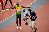 05 08 2012 Olympic Games, London, England, Athletics, USAIN BOLT