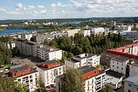 A view from the lookout tower, Mikkeli Finland