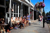 Cafes in Westbourne Grove Notting Hill London W11