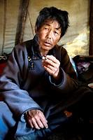 Tsaatan Tribe Shaman, Tsagaannuur , Khovsgol, Mongolia