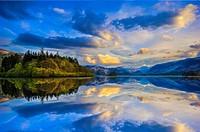 Friar´s Crag, Derwent Water, Lake District, Cumbria, England, UK