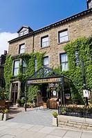 Harrogate Brasserie, Cheltenham Parade, Harrogate, North Yorkshire, England, UK.