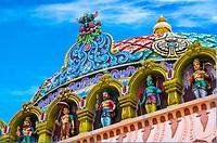 Sri Srinivasa Perumal Temple in Singapore dedicated to Vishnu