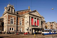 The Concertgebouw, the Netherlands´ most prestigious concert hall, Amsterdam, the Netherlands