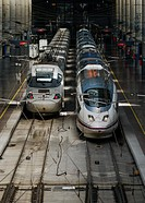 AVE high speed trains, Madrid, Spain