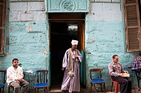 A visit to a local tea house in the narrow streets of Central Cairo.