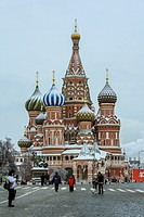 Saint Basil´s Cathedral, Red Square, Moscow, Russia
