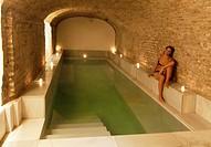 Arab baths, Hammam, Aire de Sevilla, Seville, Spain