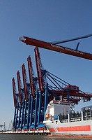 Dockside Crane, Port of Hamburg