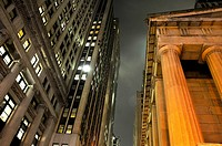 Wall Street, Financial District, Manhattan, New York City, USA