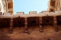Wall section of the Torres de Quart, Valencia
