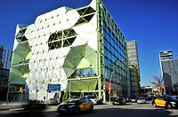 Building Media-TIC Enric Ruiz-Geli, 22 @ district, Barcelona, Catalonia, Spain.