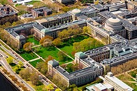 Aerial view of the Massachusetts Institute of Technology´s Main Campus