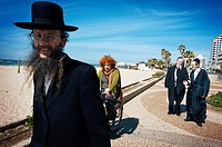 Orthodox Jews, Tel Aviv, Israel.