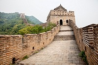 great wall of china lost in the fog