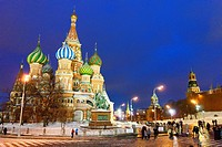 St  Basil´s Cathedral  Moscow, Russia