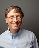 Bill Gates Studio Headshot Portrait, 2010