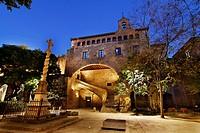 Santa Creu Hospital  Church  XIIIth to XVth centuries  Barcelona