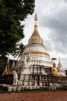 Stone stupa  Bangkok