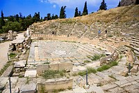 greece, athens: theater of dionysus