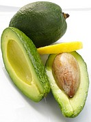 Avocado with lemon